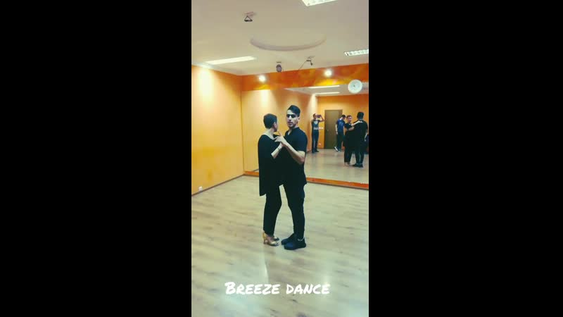 Кизомба с Али в Breeze dance.