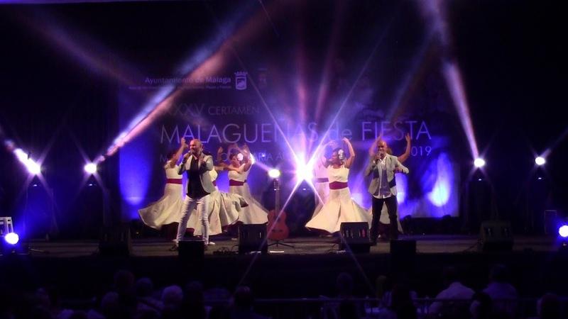 2019. Semifinales Malagueñas de Fiesta. Hermanos Merchán Mi compañera