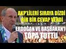 Muharrem İnce AKP'lileri sıraya dizdi bir bir cevap verdi Erdoğan ve Başbakan'ı topa tuttu