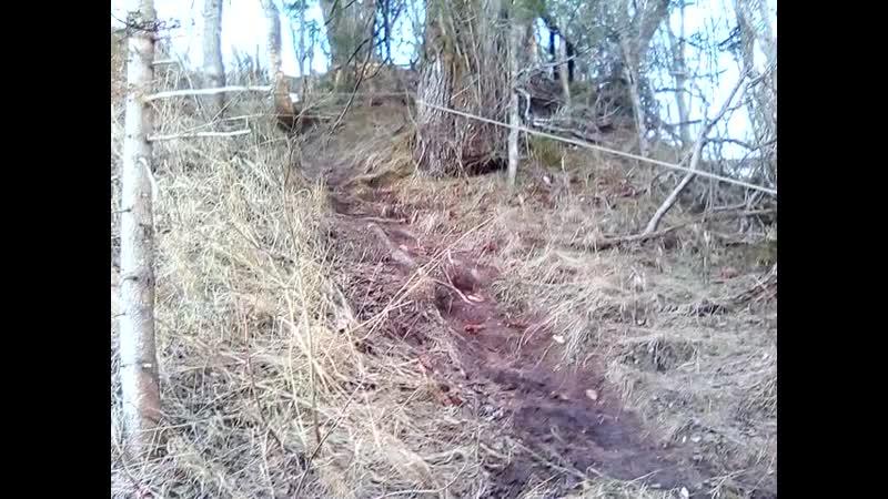 Андома гора Подъём в углу ссв склона