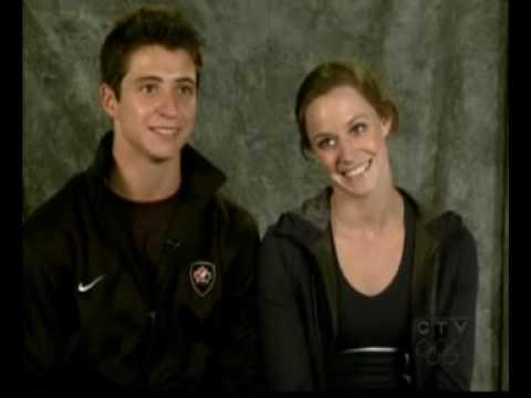 Virtue and Moir on CTV news