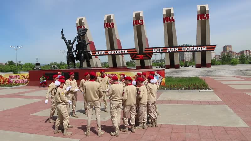 Военно-патриотический клуб Дома офицеров Патриоты Забайкалья Вместе - мы сила