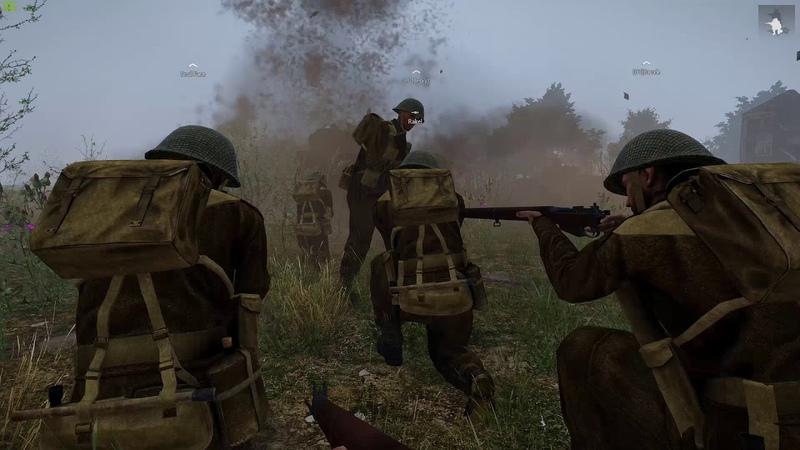 RB Iron Front   Arma 3   Штурм укреплений перед городом Кан при поддержке танков  
