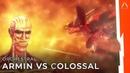 Armin vs Colossal Titan Theme | Shingeki no Kyojin Season 3 Part 2 Episode 5 (54)「HQ Cover」 (進撃の巨人}
