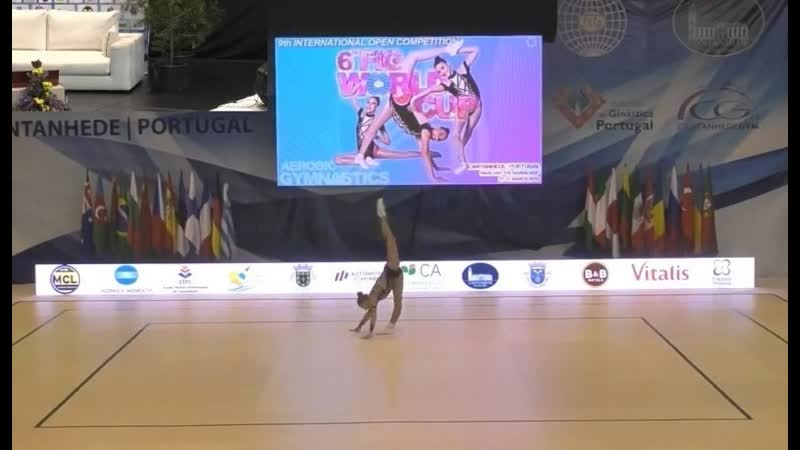 9th International Open Competition - CANTANHEDE 2019. Qualifications. IW AG1. TARASOVA Aleksandra
