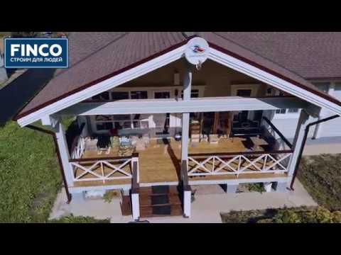 Дом баня из профилированного бруса от FiNCO СК Финко отзывы