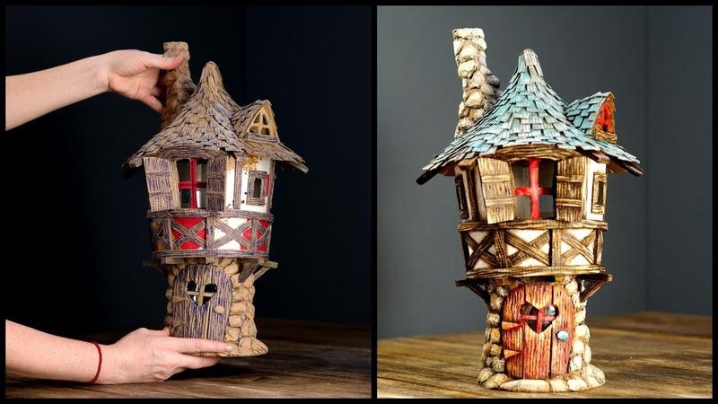 ❣DIY Fairy Tower Using Cardboard❣