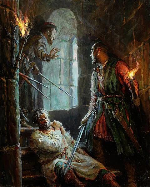 КРОВАВЫЙ ДЕТЕКТИВ XII ВЕКА: КАК УБИВАЛИ АНДРЕЯ БОГОЛЮБСКОГО...