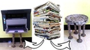 How to make an Newspaper Chair | Kids Chair | All type videyos