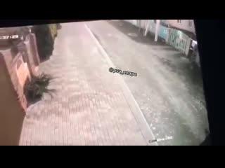 Расстрел сына и отца из-за громкой музыки попал на видео в Анапе