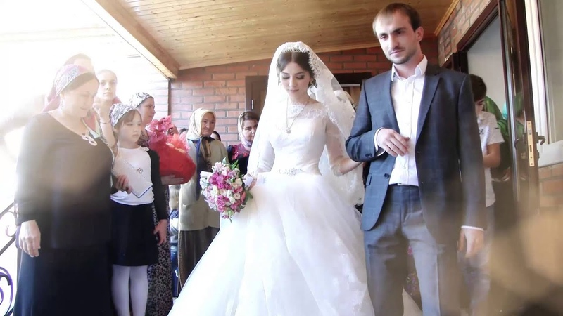 Чеченская свадьба Абубакара Седы 2014 Гудермес часть 1