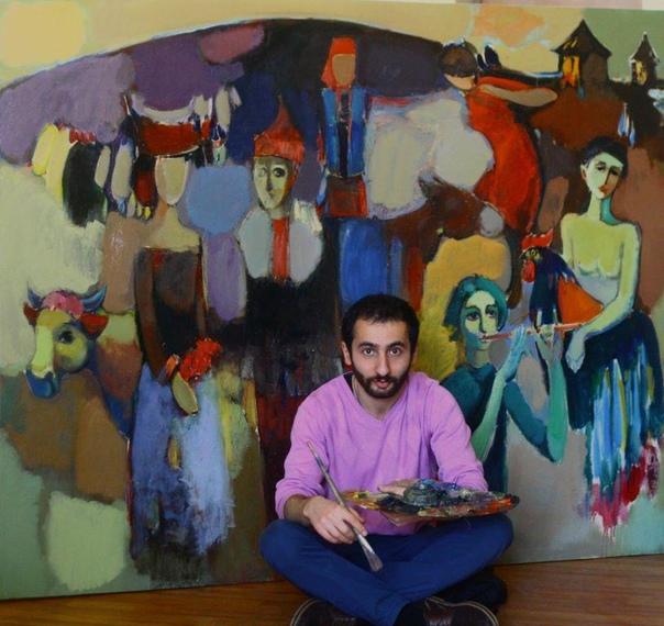 Современный армянский художник Мгер Чатинян. Радость весны