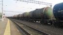 Электровоз ВЛ11.8-716 с грузовым поездом станция Кресты 26.04.2019