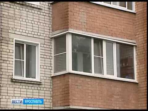 В Данилове 3-летний ребенок выпал из окна