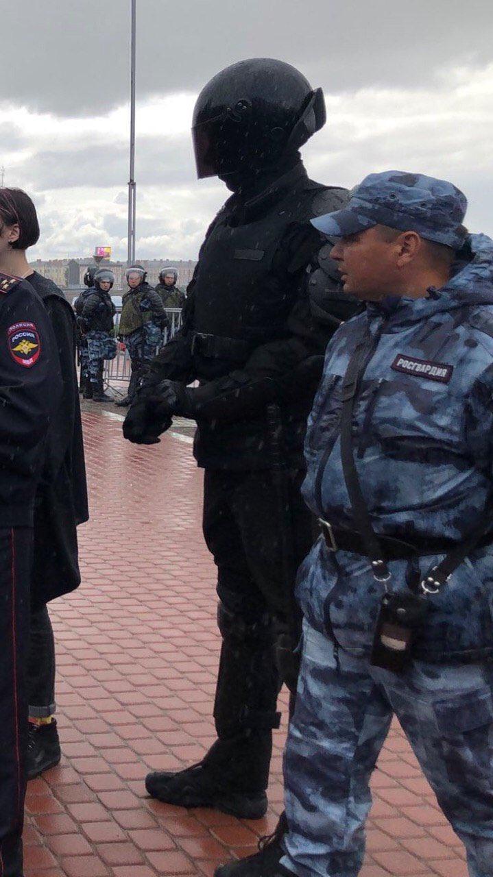 Задержания на митинге в Москве. 03.08.2019
