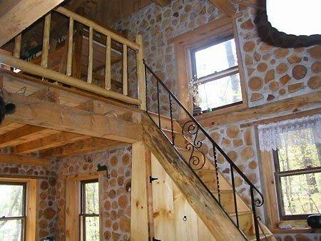 Экологически чистый дом из дров