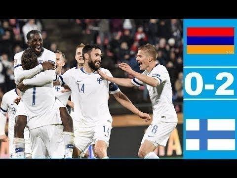 Armenia vs Finland (0-2) All Gоals Extеndеd Hіghlіghts - FIFA 2019
