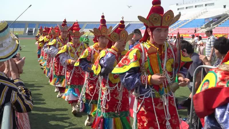 В Улан Удэ состоялись танцы чам в рамках посвящения Калачакры
