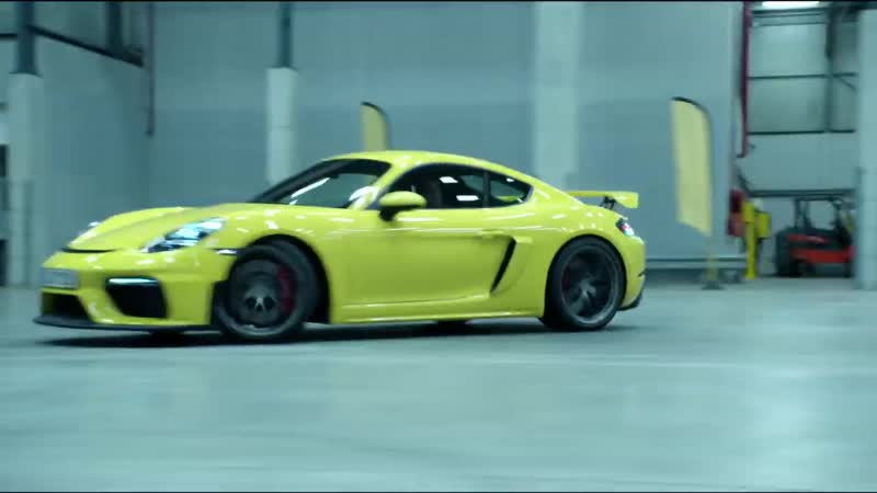 The new Porsche 718 GT4. Perfectly irrational