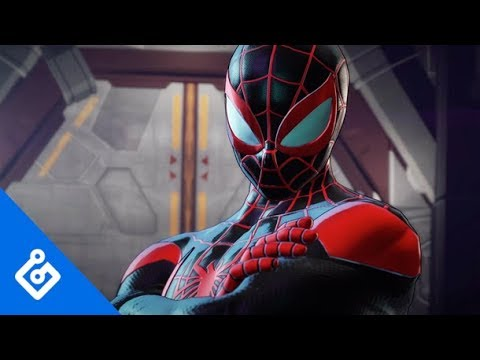 Exclusive Miles Morales Gameplay Marvel Ultimate Alliance 3