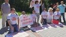 Сочи: дольщики встали на колени перед Путиным