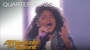 Amanda Mena: Teen Sings Pink's What About Us Bilingually - America's Got Talent 2018