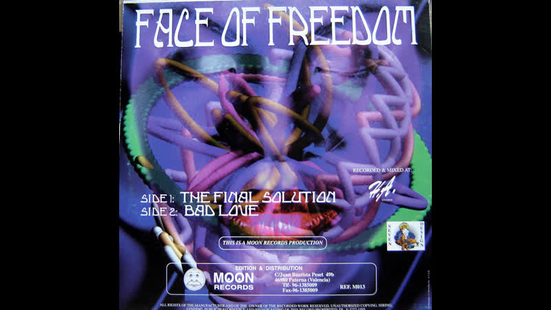 Face Of Freedom - The Final Solution (Original Mix 1995)