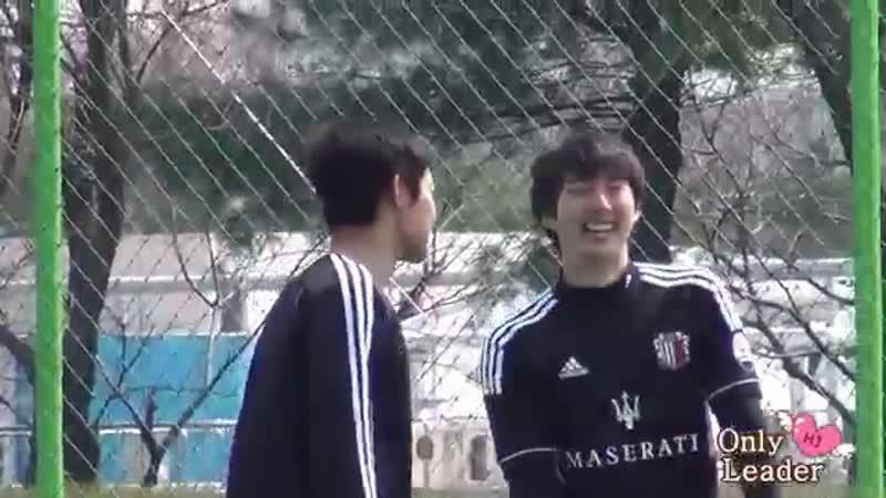 2013.04.13 Kim Hyun Joong fancam @ FC Avengers soccer match