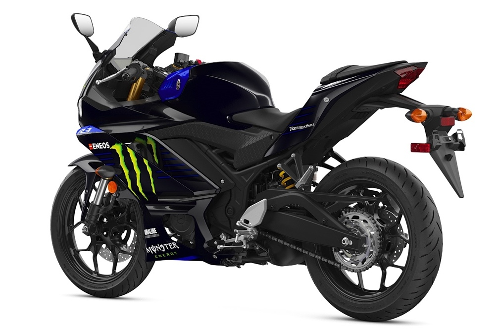 Спортбайк Monster Energy Yamaha MotoGP Edition YZF-R3 2020