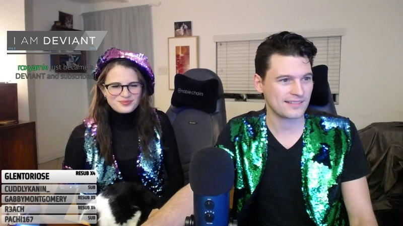 GREEN CONNOR 4 Detroit Become Human w Bryan Dechart Amelia Rose Blaire in FISH VESTS