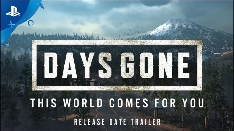 Days Gone – This World Comes For You - 2019 Release Trailer   PS4