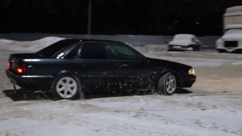 Audi V8 d11 3.6 quattro snow