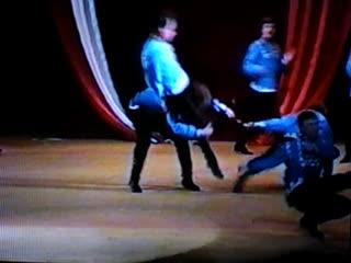 Танцы моей молодости в составе анс танца Шахтёрский огонёк Щегловский Жених с Самолётом