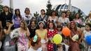 Международный флешмоб женственности 1 августа Темиртау