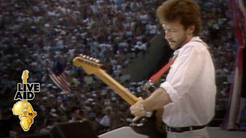 Eric Clapton - Layla (Live Aid 1985)