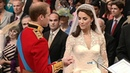 Prince William and Kate Middleton exchange vows