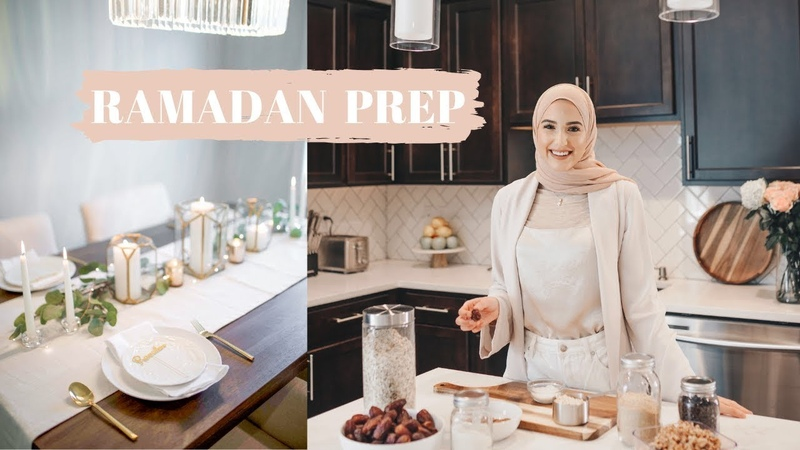 Prep For Ramadan With Me! | Goals | Grocery Haul | Decor | Meal Prep