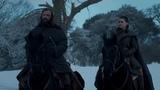 Игра престолов  8 сезон  4 серия  Арья вместе с Псом покидает Винтерфелл