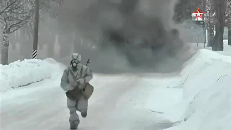 Women gas mask