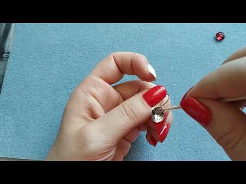 Создаём стильные серьги с кристаллами Сваровски