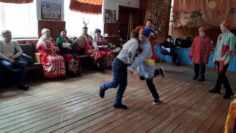 МАСЛЕНИЦА 2019 Конкурс Петушиные бои Часть 1