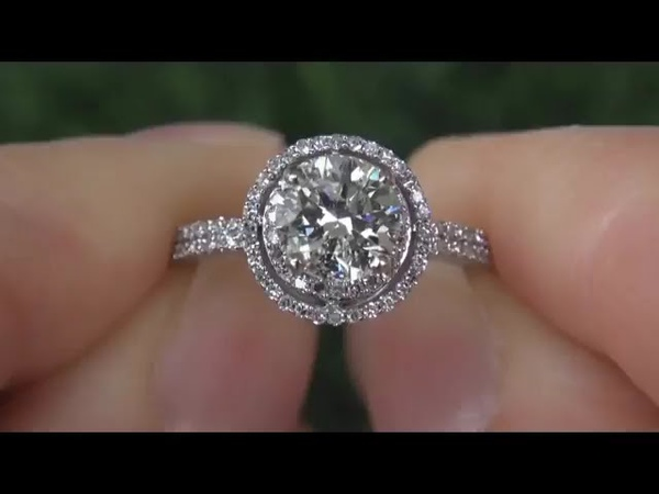 Crazy Huge Diamond Engagement Wedding Ring Up For Auction Gorgeous Diamonds Solid Gold