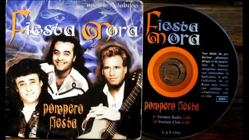 Фиеста и Хасна Испанская гитара песни FIESTA MORA pompero fiesta 1996