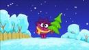 Смешарики Малышарики приключение Кроша и смешариков на новый год сборник мультик от H2O kids игра дл