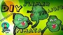 DIY Slimer (Ghostbusters)Pinata/ Como hacer una Pinata de Pegajoso (Casafantasmas)