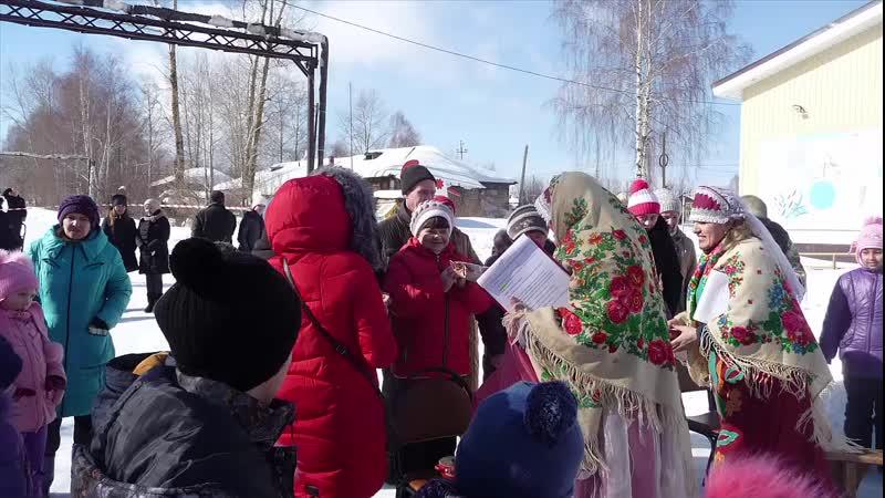Проводы зимы в Ваньках Чайковского округа