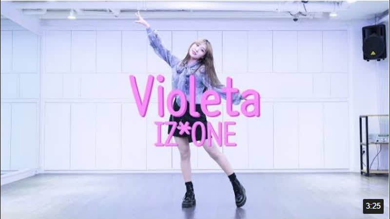 IZ٭ONE (아이즈원) - Vieoleta (비올레타)Dance Cover _⁄ Cover by SOL-E (Mirror Mode)