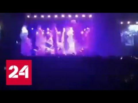 В Казани шоу Макса Коржа перепутали с землетрясением - Россия 24