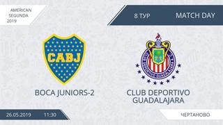 AFL19. America. Segunda. Day 8. Boca Juniors-2 - Club Deportivo Guadalajara
