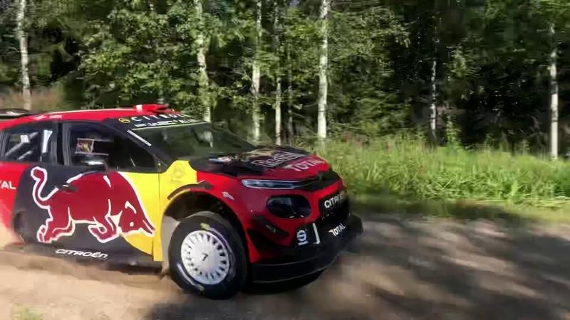 Тесты Citroen и Эсапекки Лаппи перед ралли Финляндии 2019